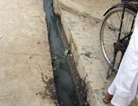 下水道の整備も進みました