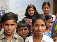 「子どもにやさしい村」プロジェクトで支援した村の子どもたち