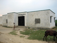 子ども村議会の提案を受けて新しくできた学校の教室