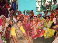 プロジェクトを通じて女性グループの活動が活発になりました