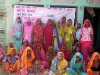 女性グループメンバー(スラジプラ村)