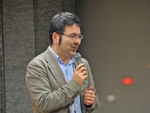 会場を提供くださった日本財団CANPANの山田さん
