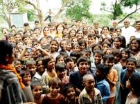 インドの農村地域での支援活動