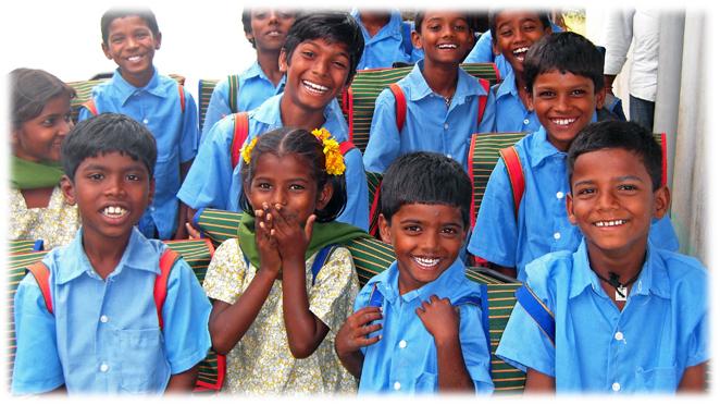 インド・コットン生産地域の子どもたちの教育支援