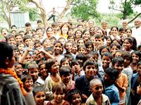 ACEが支援するインドの村の子どもたち