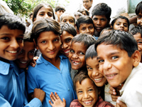 ACEが支援してきたインドの子どもたち