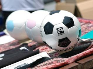児童労働をなくす取り組みフェアトレードによって作られたサッカーボール