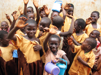 ガーナの子どもたち