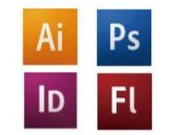 デザインをするための各種ソフトのイメージイラスト