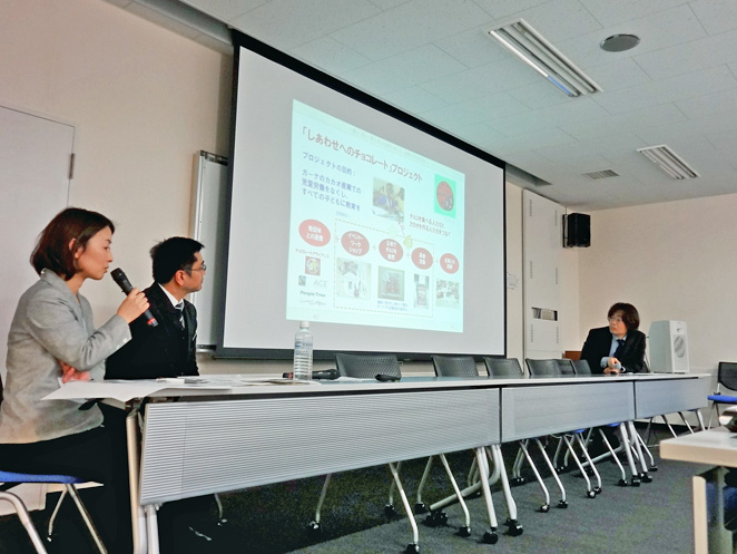 森永製菓菓子事業本部 八木格さんとACE事務局長 白木朋子による対談