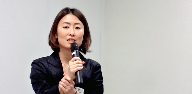 ACE事務局長 白木朋子