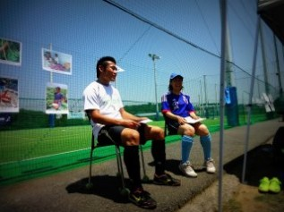 インドプロサッカーリーグで活躍中の松ヶ枝泰介選手によるトークショーを実施