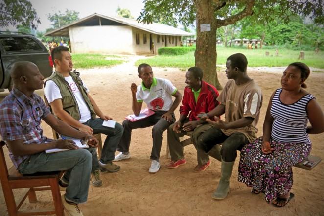 ガーナ「子ども保護委員会」