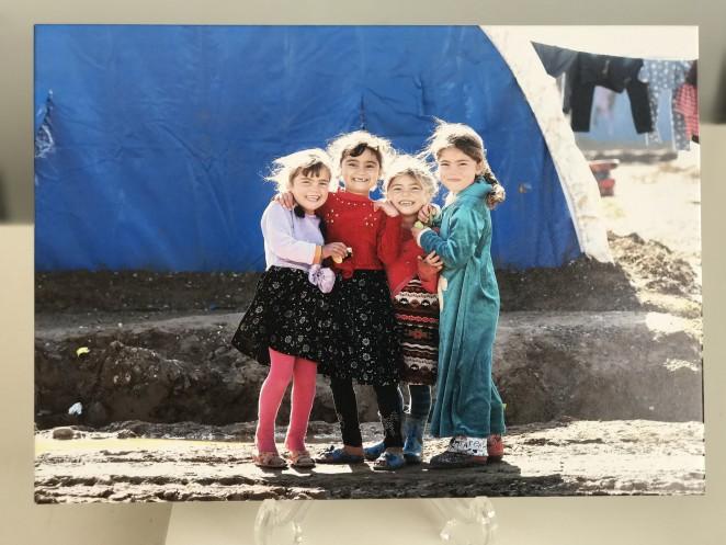 イラク北部の子どもたち