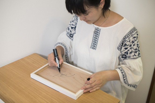 安田菜津紀さんのサイン入り