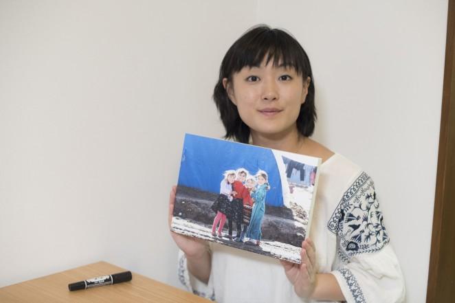 安田菜津紀さんと写真「イラク北部の子どもたち」