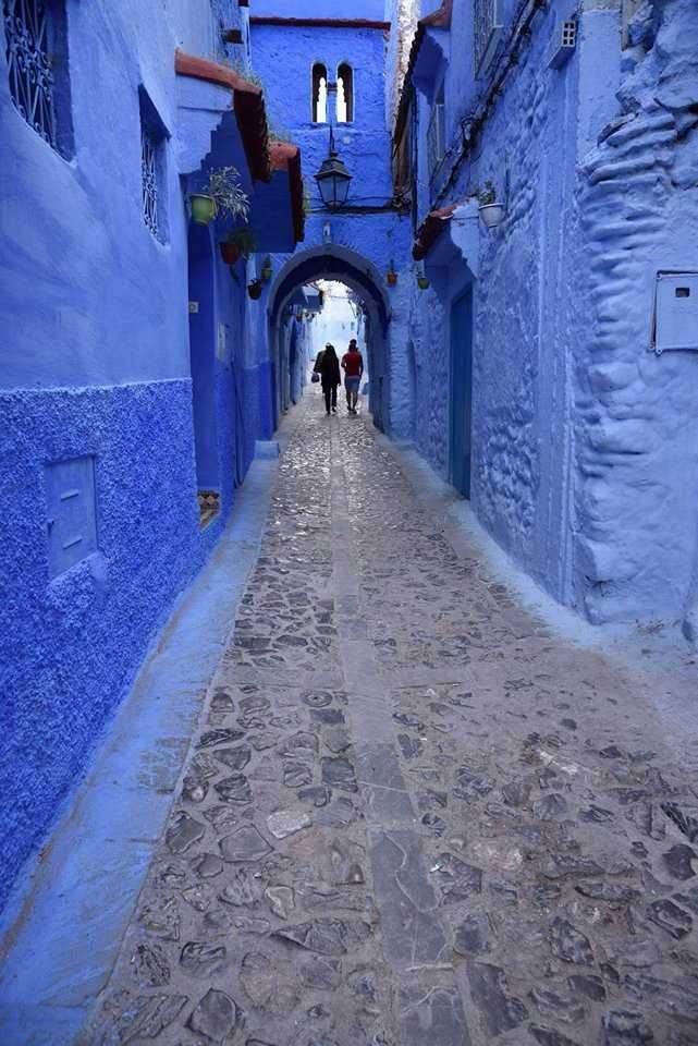 シャウエン(モロッコ北部)