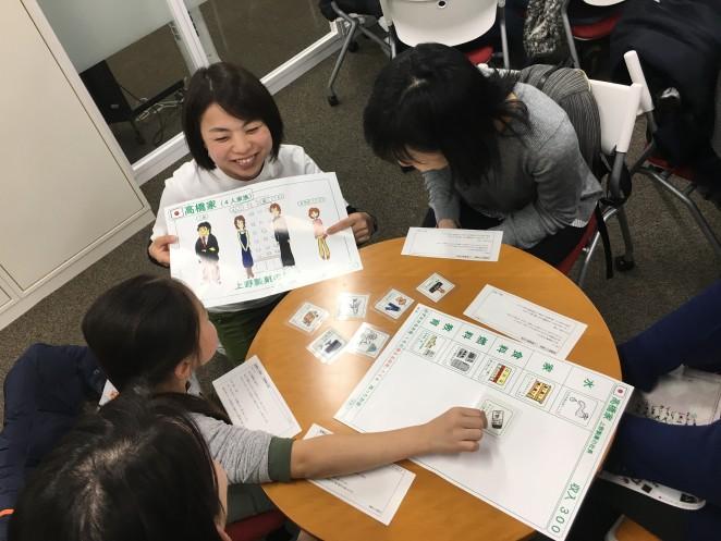 日本の「高橋家」。収入は300、お父さんは製菓会社の社長です。