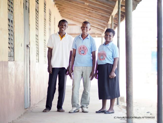 遠い遠い国のガーナで活動するCCPCのメンバー