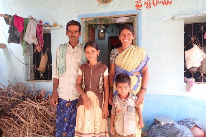 レヌカさんと家族
