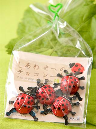 「しあわせを運ぶ てんとう虫チョコ」2009