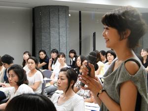 女性の参加者が多く熱心な質問が多くありました