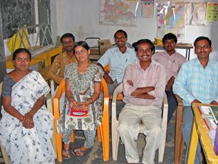 インドの学校の先生たち
