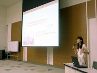 花王株式会社内で報告会を開催