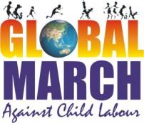 グローバルマーチのロゴ