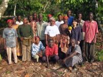 カカオ生産の技術を高めるため農業トレーニングを実施
