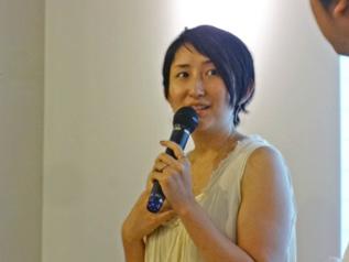 エシカルジュエリーの魅力を語るHASUNA 白木夏子さん