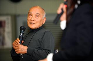 ACE法人化5周年記念シンポジウムに登壇くださった谷川俊太郎さん