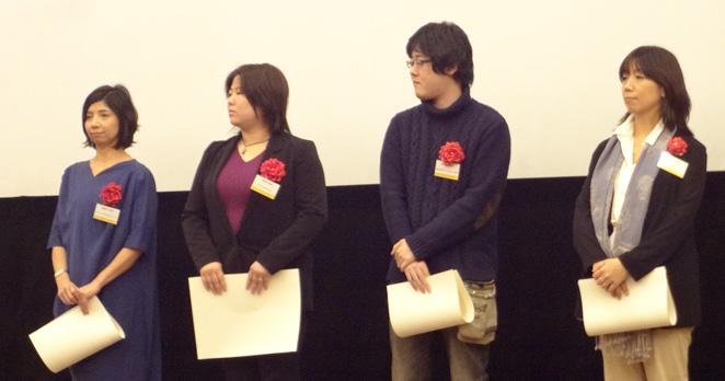 左から:スマイリングホスピタルジャパン、にじいろクレヨン、自立生活サポートセンター・もやい、ACE