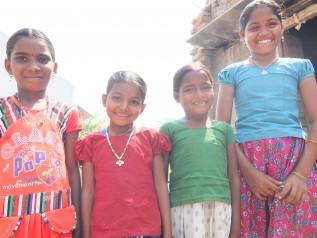 インドの女の子たち
