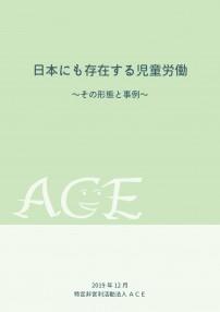 児童労働調査報告書(日)