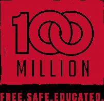 100 million logo