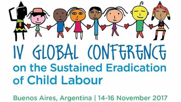 第4回児童労働の持続的な撤廃世界会議(アルゼンチン)