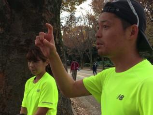 最後にこれからの練習に対するアドバイスをするMATSUコーチ