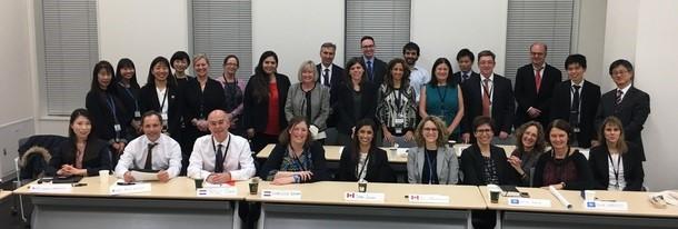 SDG 8.7 ダイアログ円卓会議の様子