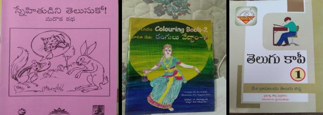 家庭学習用に教材や読み書きができない子ども向けにぬり絵帳などを配布